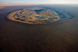 Le magnifique volcan Waw An Namus en Libye