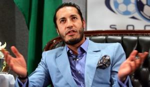 Saadi Kadhafi, l'un des fils du Guide